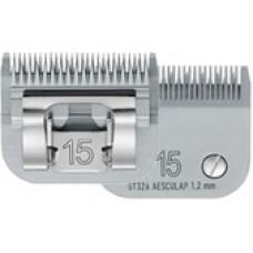 AESCULAP Testina SNAP ON CUTTER HEAD  Misura 15,  mm. 1,2    GT326