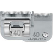 AESCULAP Testina SNAP ON CUTTER HEAD  Misura 40, mm 0,25   GT310