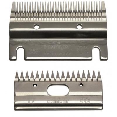 Heiniger  clipper blade set  35F/17