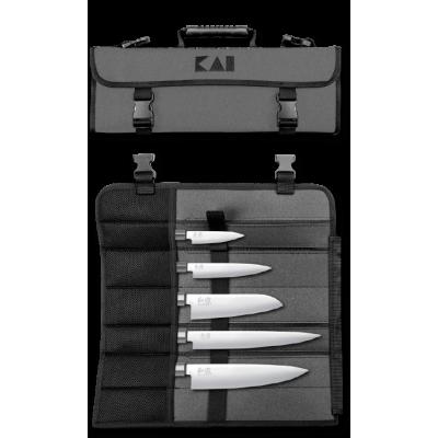 KAI WASABI BLACK COOK'S BAG Knife holder, full