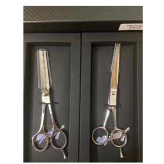 LEADER CAM SET of  two scissor, Micro-toothed and thinner 6,5""