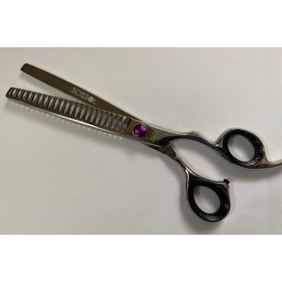 "SCISSOL  thinning scissor   chunker  Size  8""  22 Teeth"