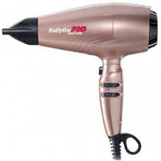 Babyliss PRO  phon ULTRALIGHT RAPIDO GOLD ROSE DRYER