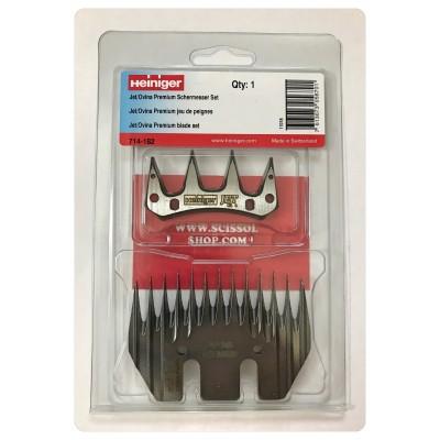 HEINIGER comb set JET Ovina Premium