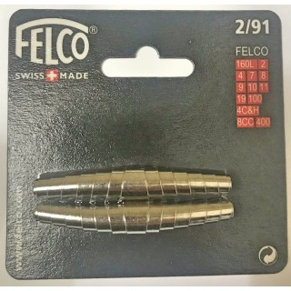 FELCO kit 2 springs  mm 62- f2-4-7-8-9-10-11-19